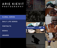 Website Arie Kievit Photography